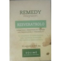 REMEDY RESVERATROLO SOLIME' 60 CAPSULE